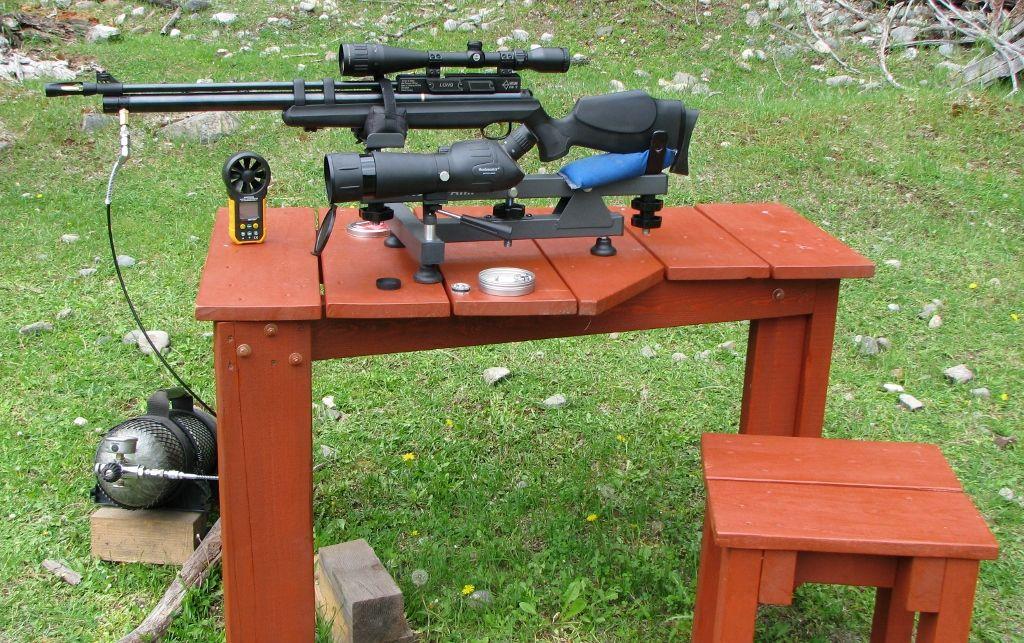 نصب صحیح تجهیزات در بنچ رست و استفاده از سلاح های غیر بنچ رستی در تیراندازی بنچ رست