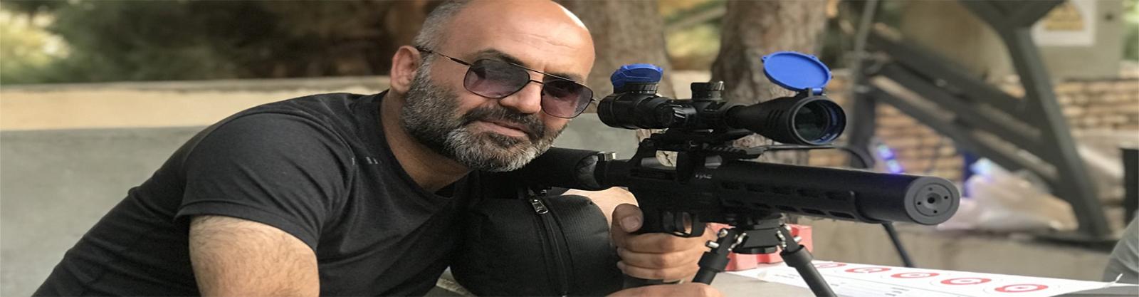 مسابقه بنچ رست ۱۰۰ یارد تفنگ بادی