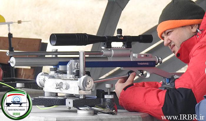 رکورد تفنگ بادی بنچ رست ۲۵ متر هوی ورمینت