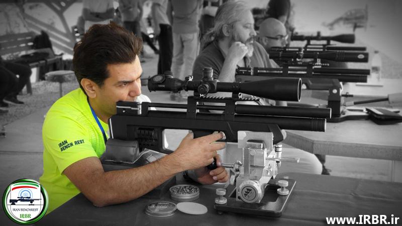 رکورد های بنچ رست ۵۰ متر تفنگ بادی