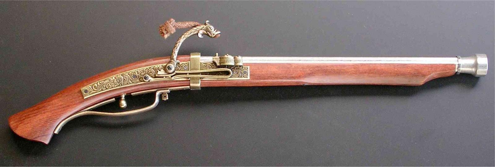 تفنگ فتیله ای