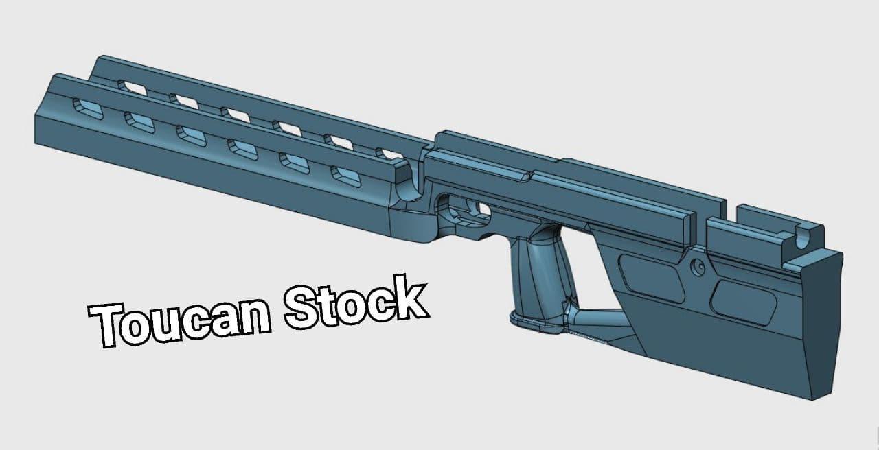 قنداق تفنگ اوراگان – ساخت توکان استوک