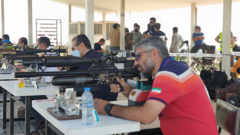 بنچ رست تفنگ بادی۱۰۰ یارد