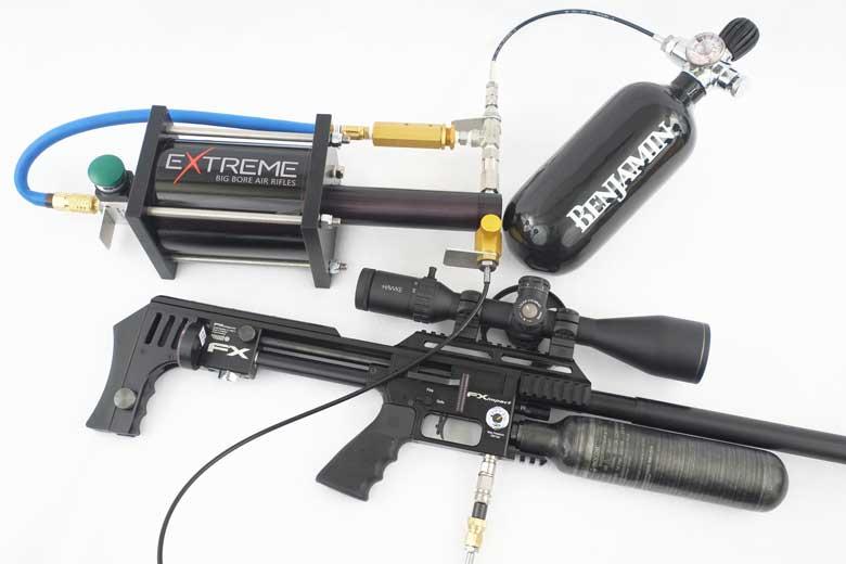 پمپ تقویت کننده واسط شارژ تفنگ بادی