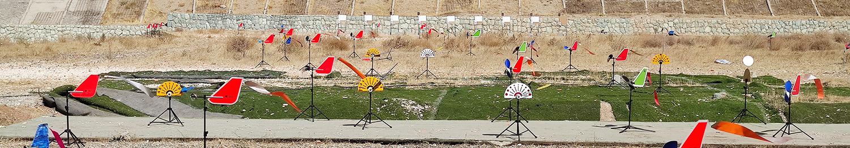 مسابقه بنچ رست تفنگ بادی ۱۰۰ یارد